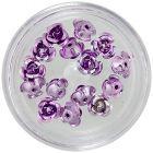 Light purple ceramic roses