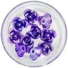 Decoration for nails - purple, 10pcs