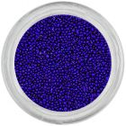 Blue pearls for nails, 0,5mm