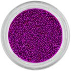 Decorations for nails - 0,5mm pearls, dark purple