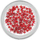 Red rhinestones, stars
