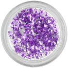 Light purple rhinestones, triangle