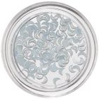 Nail Art  Light Blue Decorations - Crescents, Pearlescent