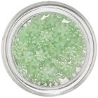 Pearlescent Flowers for Nails - Light Green