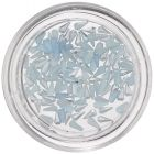 Tear Drops for Nail Decoration - Light Blue, Pearlescent