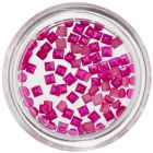 Pearlescent Squares for Nails - Cyclamen
